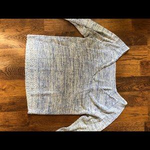 Lulus open back sweater